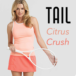 Shop Tail women's tennis apparel for Fall 2015