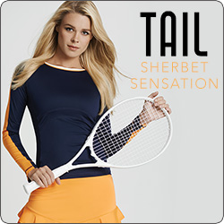 Shop Tail Women's Sequin Skies Tennis apparel