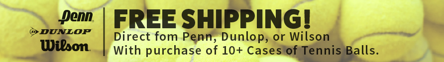 Free Shipping on Tennis Balls