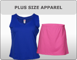 In Between Plus Size Tennis Apparel