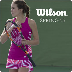 Shop Wilson Women's Tennis Apparel