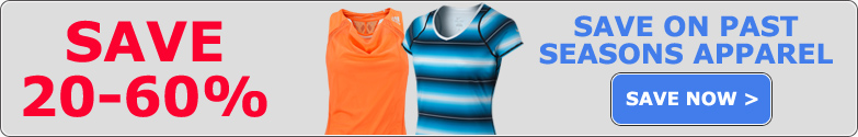 Women's Tennis Apparel Past Season Sale!
