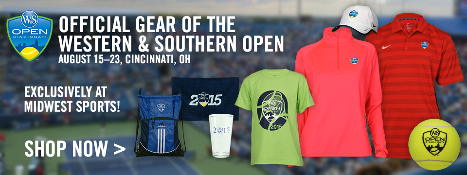 Western & Southern Open Exclusive Tournament Gear