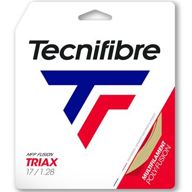 Tecnifibre Triax 17G Tennis String - Natural