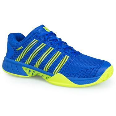 K Swiss Hypercourt Express Mens Tennis Shoe - Blue/Citron