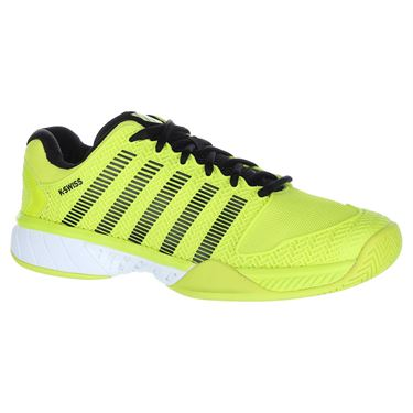 K Swiss Hypercourt Express Mens Tennis Shoe - Neon Yellow/Black/White