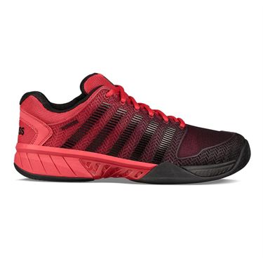 K Swiss Hypercourt Express Mens Tennis Shoe - Lollipop Red/Black