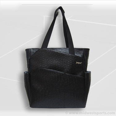 Jet Pac Jetsetter Ostrich Ink Jet Tennis Tote