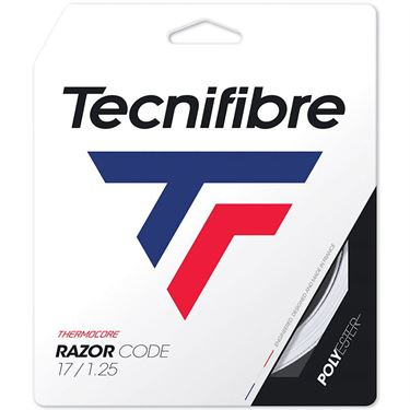Tecnifibre Razor Code 17G White (1.25mm) Tennis String