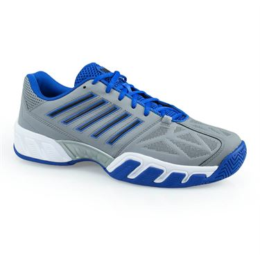 K Swiss Bigshot Light 3 Mens Tennis Shoe - Titanium/Black/Blue