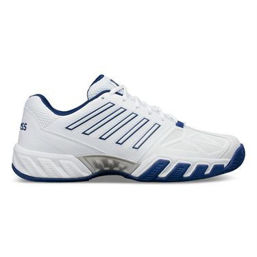 K Swiss Bigshot Light 3 Mens Tennis Shoe White/Limoges/Silver 05366 164