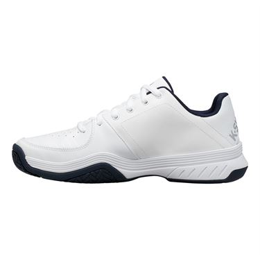 K Swiss Court Express Mens Tennis Shoe White/Navy 05443 109