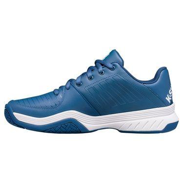K Swiss Court Express Mens Tennis Shoe Dark Blue/White 05443 432
