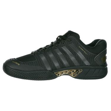 KSwiss Hypercourt Express Special Edition Mens Tennis Shoe - Black Ink/Gold