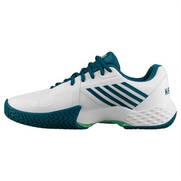 K Swiss Aero Court Mens Tennis Shoe - White/Corsair/Spring Bud