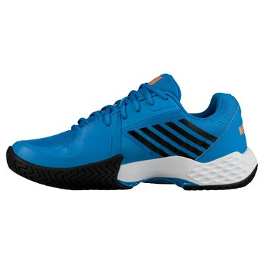 K Swiss Aero Court Mens Tennis Shoe - Brilliant Blue/Neon Orange