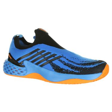 K Swiss Aero Knit Mens Tennis Shoe - Brilliant Blue/Neon Orange