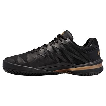 K Swiss Ultrashot 2 Mens Tennis Shoe Black/Gold 06168 015