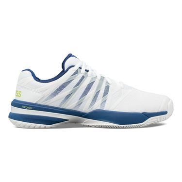 K Swiss Ultrashot 2 Mens Tennis Shoe White/Limoges/Sharp Green 06168 163
