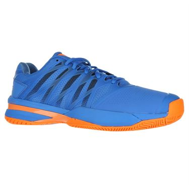 K Swiss Ultra Shot 2 Mens Tennis Shoe - Brilliant Blue/Neon Orange