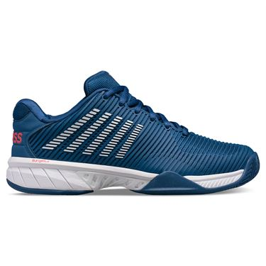 K Swiss Hypercourt Express 2 Mens Tennis Shoe Dark Blue/White/Bittersweet 06613 433