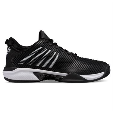 K Swiss Hypercourt Supreme Mens Tennis Shoe Black/White 06615 002