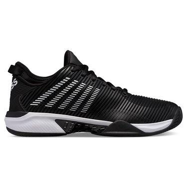 K Swiss Hypercourt Supreme Mens Tennis Shoe Black/White 06615 002
