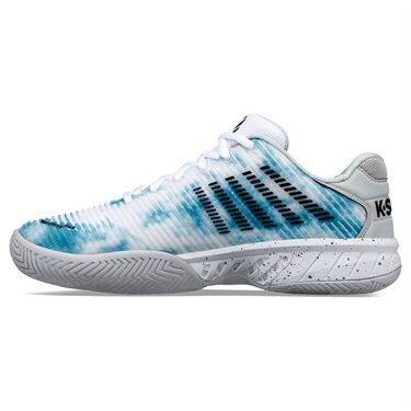 K Swiss Hypercourt Express 2 LE Mens Tennis Shoe White/Blue/Black 06964 945