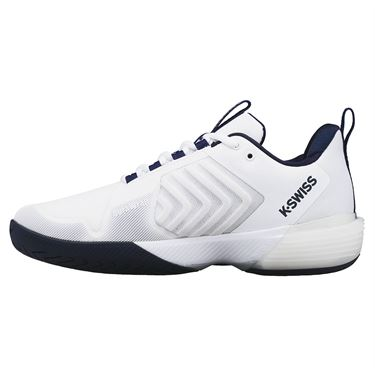 K Swiss Ultrashot 3 Mens Tennis Shoe White/Peacoat/Silver 06988 177