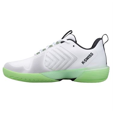 K Swiss Ultrashot 3 Mens Tennis Shoe White/Green/Blue 06988 191