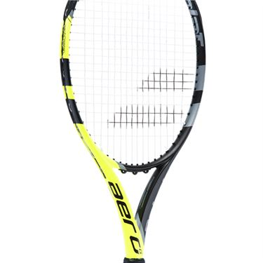 Babolat Aero G Tennis Racquet - Black/Yellow
