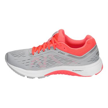 Asics GT 1000 7 Womens Running Shoe Grey/Coral 1012A030 021