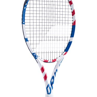 Babolat Pure Drive USA Tennis Racquet Red/White/Blue 101416 331