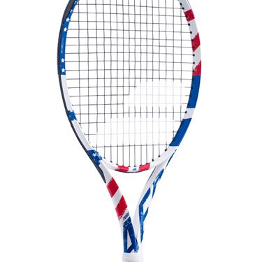 Babolat Pure Aero USA Tennis Racquet Red/White/Blue 101419 331