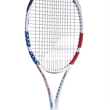 Babolat Pure Strike 16x19 USA Tennis Racquet Red/White/Blue 101423 331