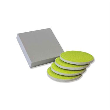 Zumer Sport Tennis Coasters (4 Pack)