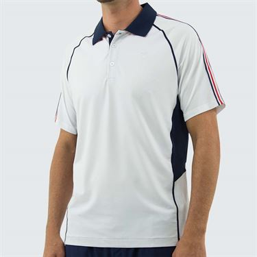 K Swiss Heritage Polo Shirt - White