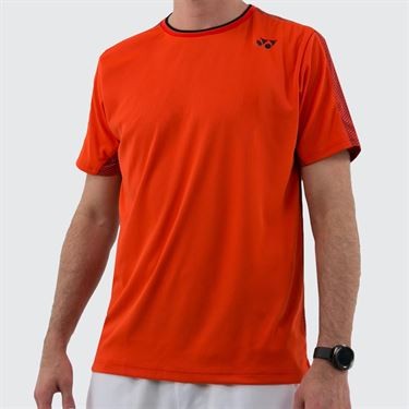 Yonex Paris Crew Shirt - Fire Red