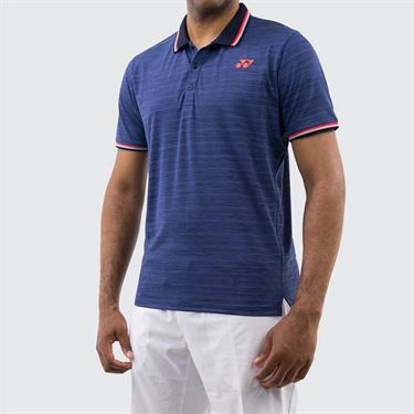 Yonex New York Polo Shirt - Indigo Blue