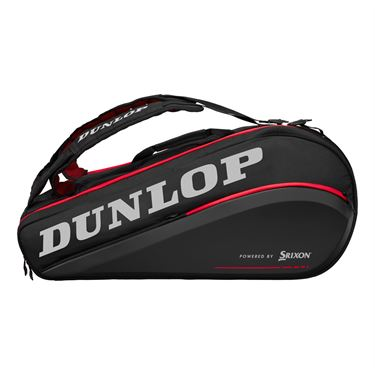 Dunlop Srixon CX Performance 9 Pack Tennis Bag - Black/Red