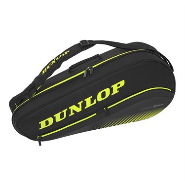 Dunlop Srixon SX Performance 3 pack Tennis Bag - Black/Yellow