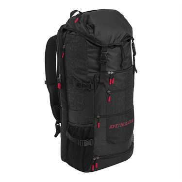 Dunlop Srixon Sport Long Tennis Backpack - Black/Red