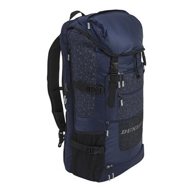 Dunlop Srixon Sport Long Tennis Backpack - Navy/Grey