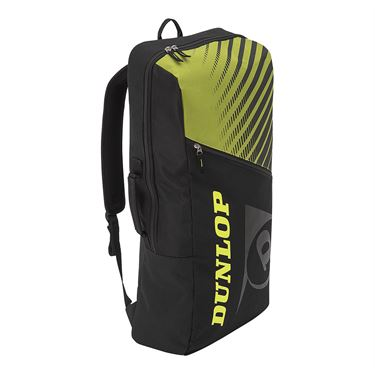 Dunlop Srixon SX Club Long Tennis Backpack - Black/Yellow