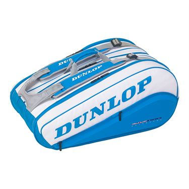 Dunlop Srixon Australian Open 12 Pack Tennis Bag - Blue/White