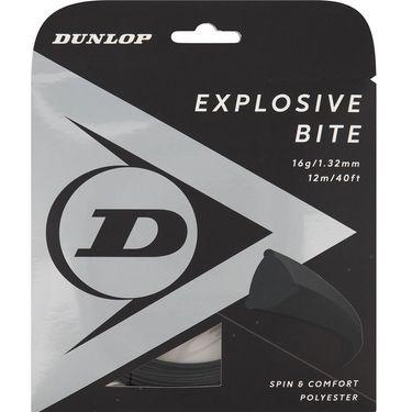 Dunlop Srixon Explosive Bite 16g Black Tennis String