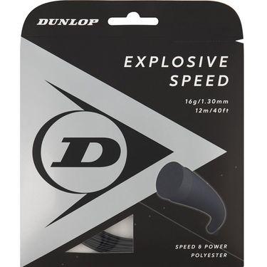 Dunlop Srixon Explosive Speed 16g Black Tennis String