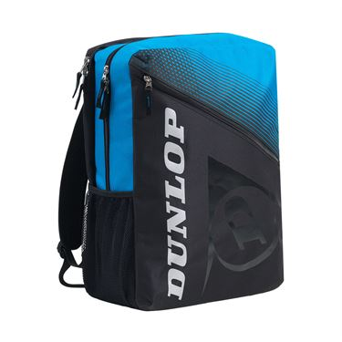 Dunlop FX Club Tennis Backpack - Black/Blue