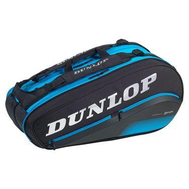 Dunlop FX Performance 8 Pack Tennis Bag - Black/Blue