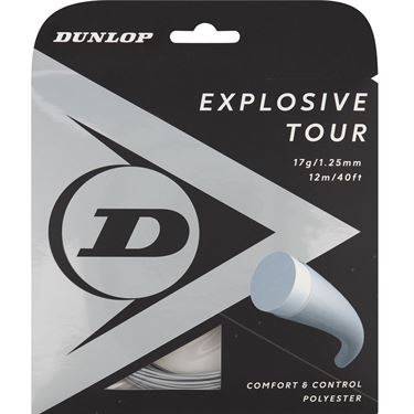 Dunlop Srixon Explosive Tour 17g Silver Tennis String